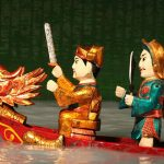 perform water puppet show