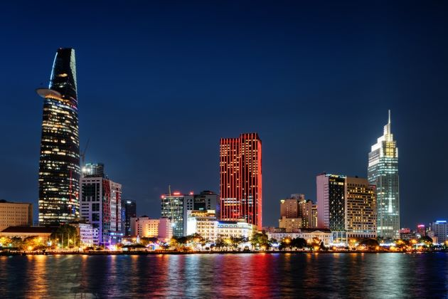 saigon at night vietnam and cambodia vacation packages