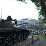 tank in saigon reunification