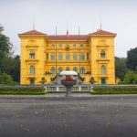 the presidental palace in hanoi
