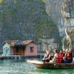 vung vieng fishing village in halong bay vietnam