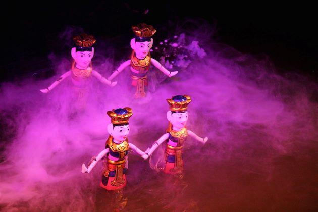 water puppet show in hanoi vietnam