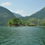 ba be lake in bac kan vietnam