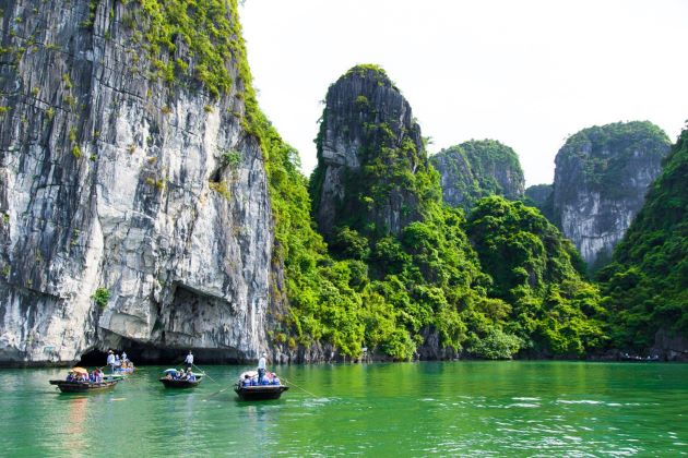 halong bay is the essential destination in classic holidays in vietnam