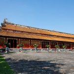 imperial citadel in hue vietnam