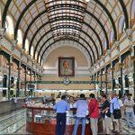 inside saigon central old post office