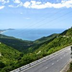 mountain and sea in hai van pass