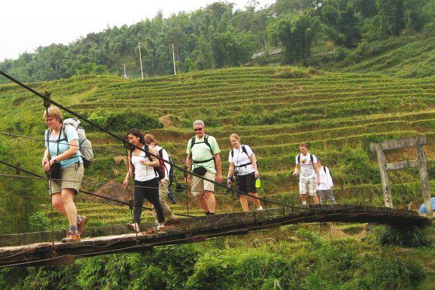 vietnam adventure tours will take you to the mountainous area of sapa