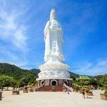 statue at linh ung pagoda danang