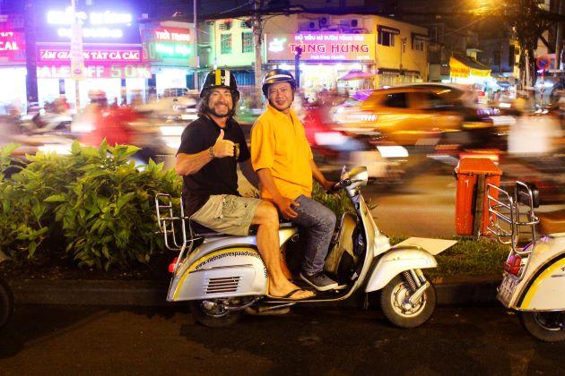 vespa tours in saigon vietnam classic holidays
