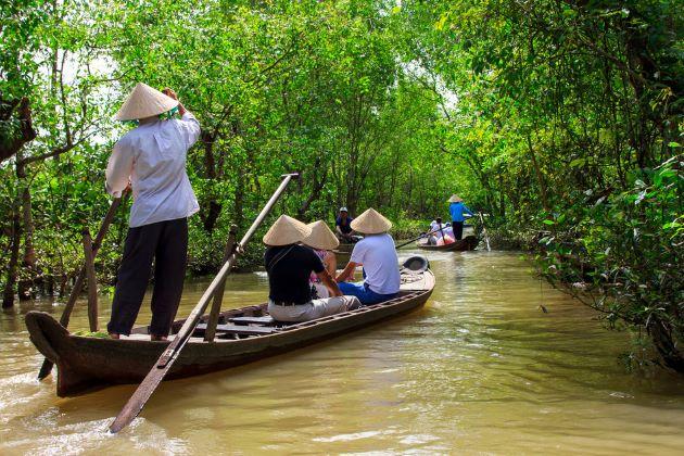 vietnam adventure tours explore the rustic mekong delta
