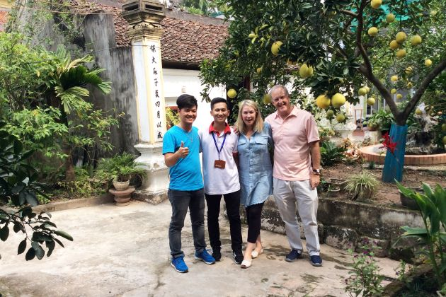 Tour Guides of Viet Vision Travel