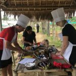 cooking class at organic farm in hoi an