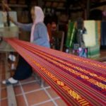 local weaving in hoi an