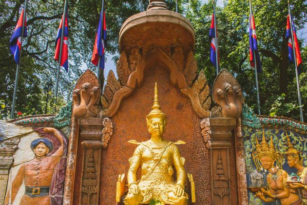 see historical relics in phnom penh is one of the interesting activities in cambodia family vacation