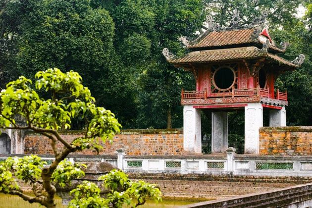 temple of literature is a must see attraction in hanoi