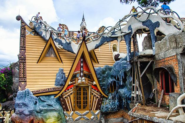 the crazy house in Dalat