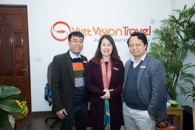 the directors of Viet Vision Travel