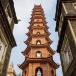 the iconic tran quoc pagoda in hanoi