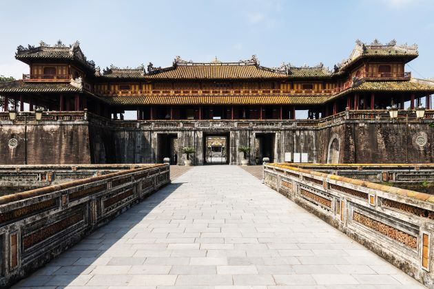 the imperial citadel in hue ancient capital