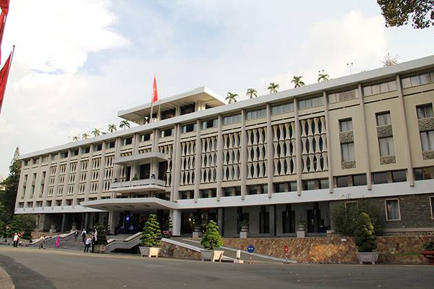 the reunification palace is a must visit attraction in ho chi minh city