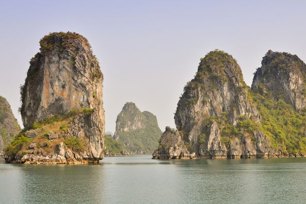 the well-known halong bay of vietnam