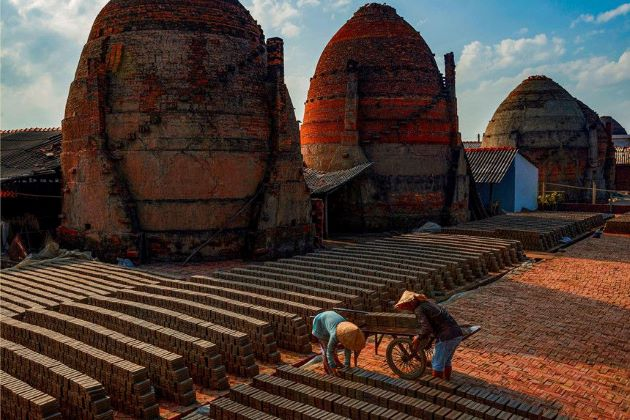 vinh long pottery village