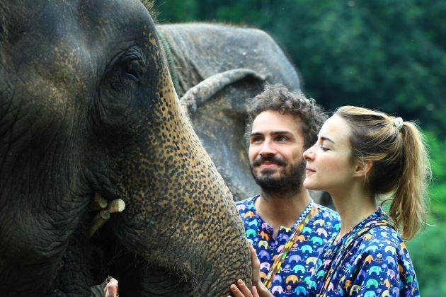 Kanta Elephant Sanctuary in chiang mai thailand