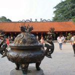 The fourth courtyard of Temple of Literature