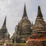Wat Phra Si Sanphet in thailand