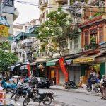 a corner of hanoi old quarter