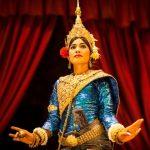 an Apsara dancer