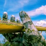 golden bridge the symbol of danang