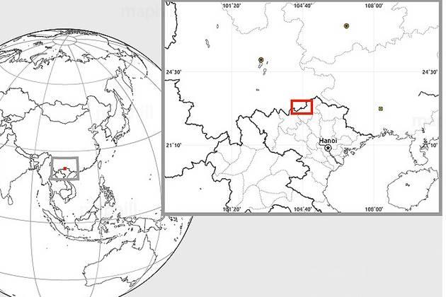 ha giang travel map