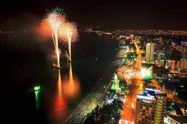 nha trang beach city in the summer