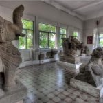 statue collection at cham museum