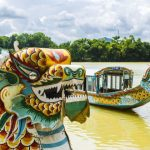 the dragon boats on perfume river