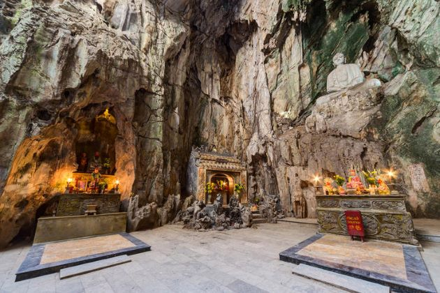 the mysterious marble mountain in danang