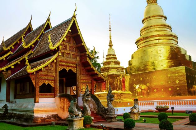 the temple of wat phra singh
