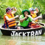 interesting journey on hoi an basket boat