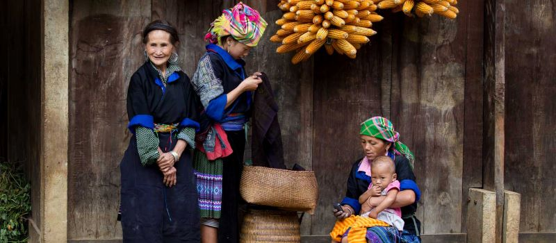 local ethnic minority in sapa vietnam