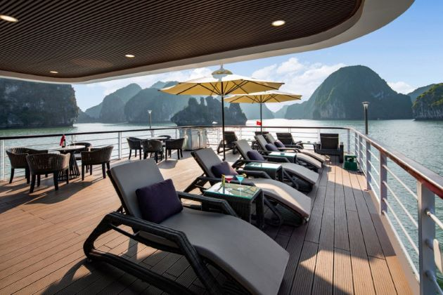 relax and revelry at halong bay cruise vietnam luxury holidays