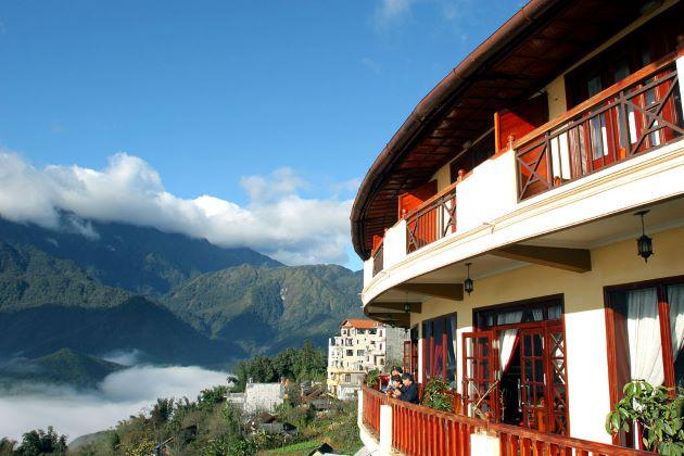 relax at mountainous area in sapa vietnam luxury travel