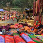 sapa vibrant and colorful market