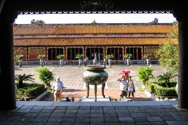 stunning palace in hue imperial city vietnam luxury journeys