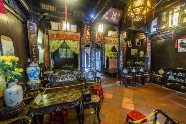 the tan ky old house in hoi an