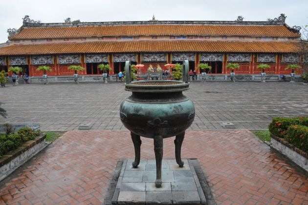 the world heritage site hue imperial citadel