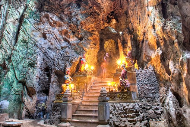 discover marble mountain in danang vietnam