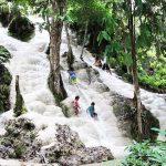 Bua Tong Sticky Waterfalls thailand