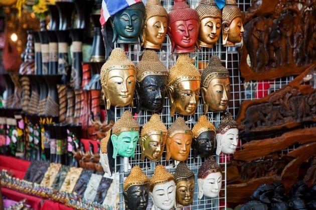 Chatuchak Weekend Market in thailand